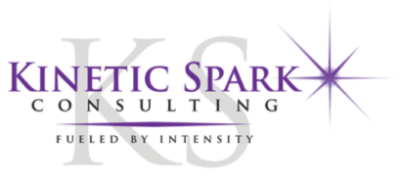 Kinetic Spark Consulting logo purple col